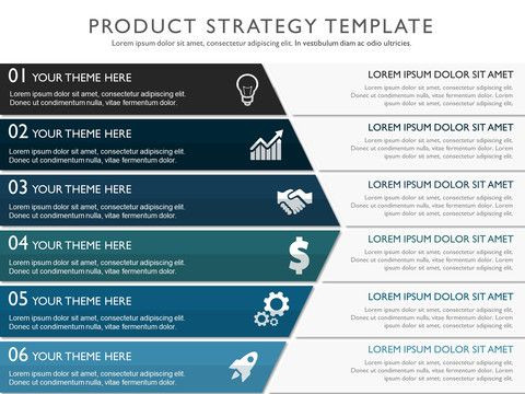 Strategic Plan Template Ppt Effective Product Strategy Presentation Template