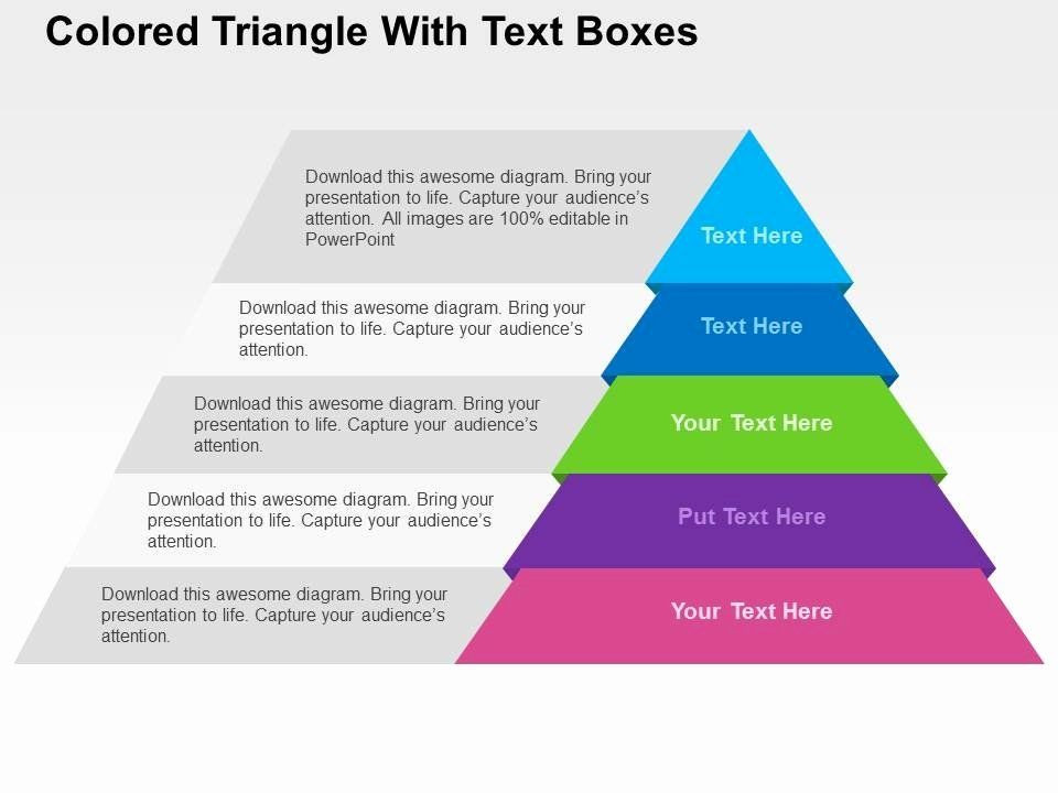 Strategic Planning Template Ppt Sales Plan Template Ppt Fresh Colored Triangle with Text