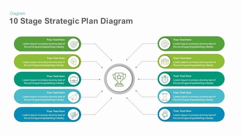 Strategic Planning Template Ppt Strategic Plan Powerpoint Template Inspirational 10 Stage