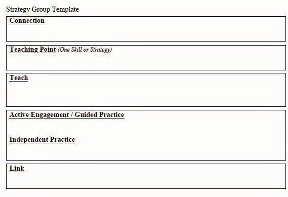 Strategy Group Lesson Plan Template Workshop Lesson Plan Template Fresh Lang Literacy Strategy