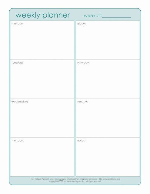 Student Weekly Planner Template Student Weekly Planner Template Unique 25 Bästa Homework