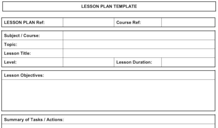 Sub Lesson Plan Template Pin On Lesson Plan Template Printables