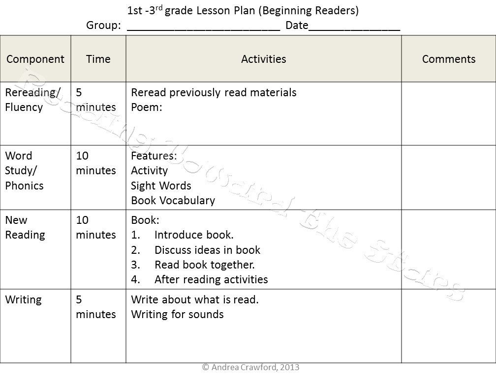 Summer Camp Lesson Plan Template Summer School Lesson Plan Template Awesome Setting Up for