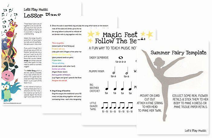 Summer School Lesson Plan Template Summer School Lesson Plans Beautiful Summer Lesson