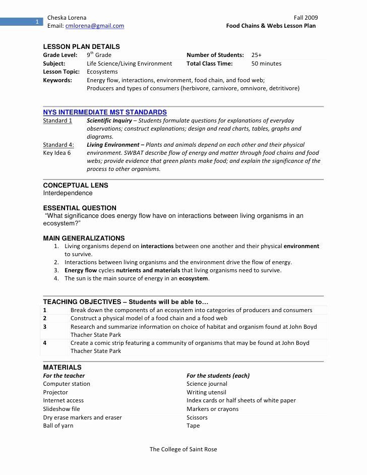 Swbat Lesson Plan Template Standards Based Lesson Plan Template Luxury Cl Sample