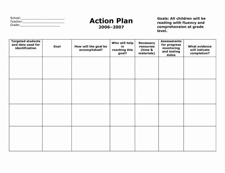Teaching Action Plan Template √ 30 Teaching Action Plan Template In 2020