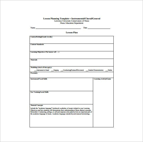 Teaching Lesson Plan Template Lesson Plan format for Cbse Teachers Google Search