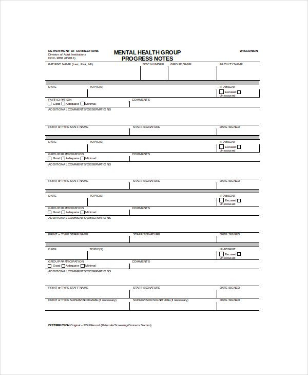 Treatment Plan Template for Counseling Pdf Doc Free & Premium Templates