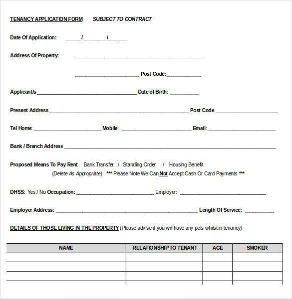Treatment Plan Template Word Free Rental Application form Template Luxury 10 Word Rental