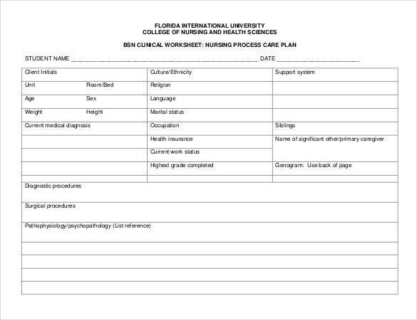 Treatment Plan Template Word Nursing Care Plan Template Word Elegant Nursing Care Plan