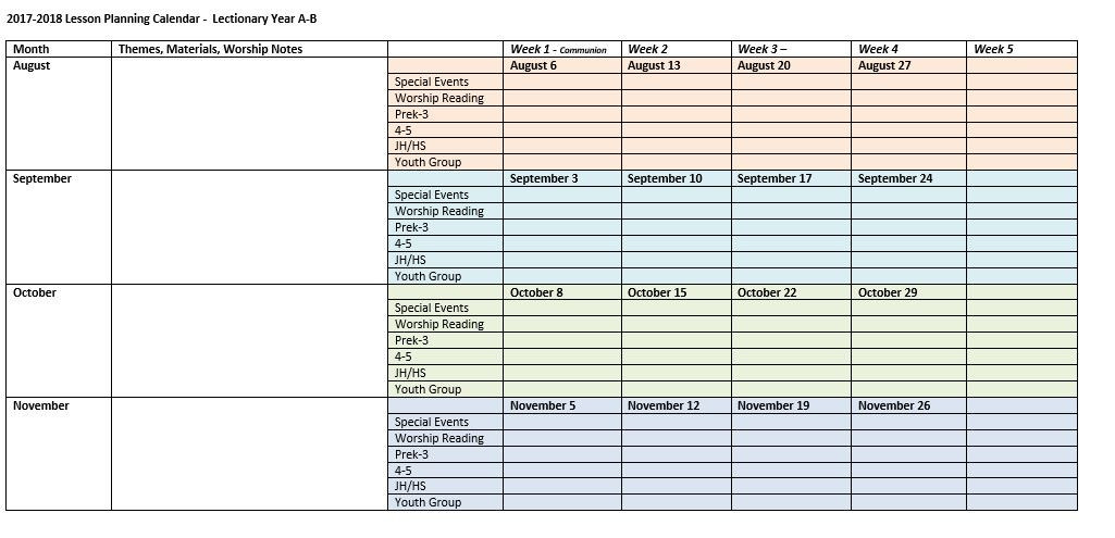 Tutoring Lesson Plan Template Year Long Lesson Plan Template Best Free Download Year