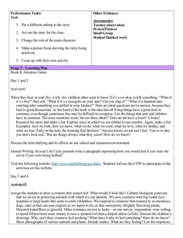Ubd Lesson Plan Template Doc Blank Ubd Lesson Plan Template Ubd Template Reading Lesson