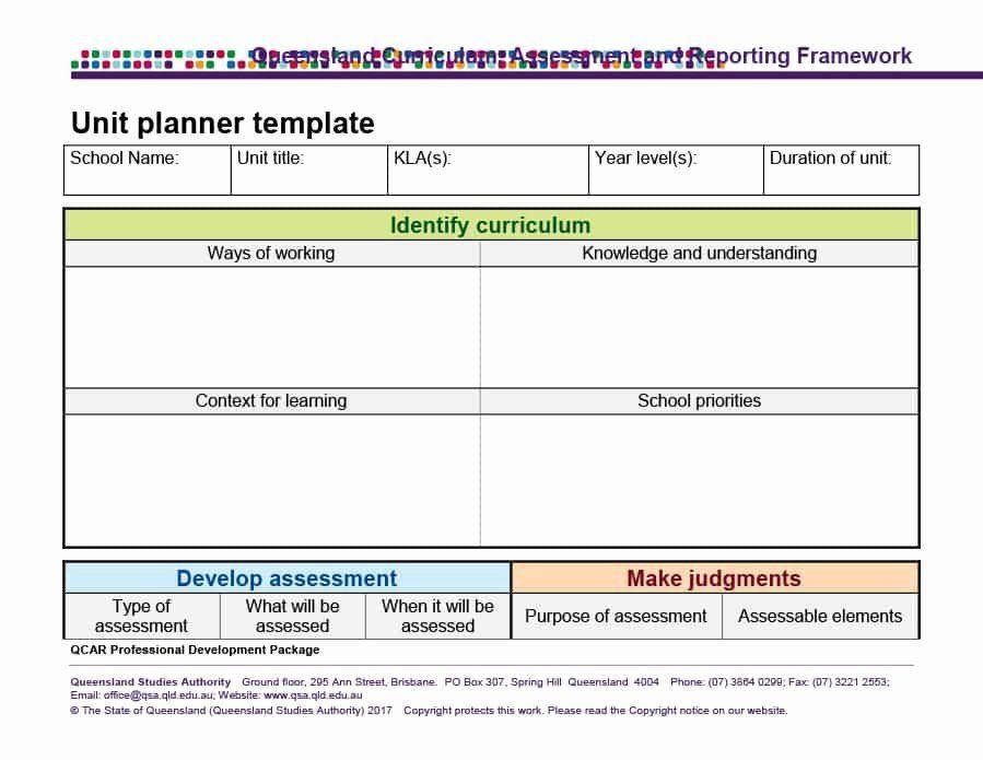 Ubd Lesson Plan Template Doc Unit Plan Template Doc Lovely 39 Best Unit Plan Templates
