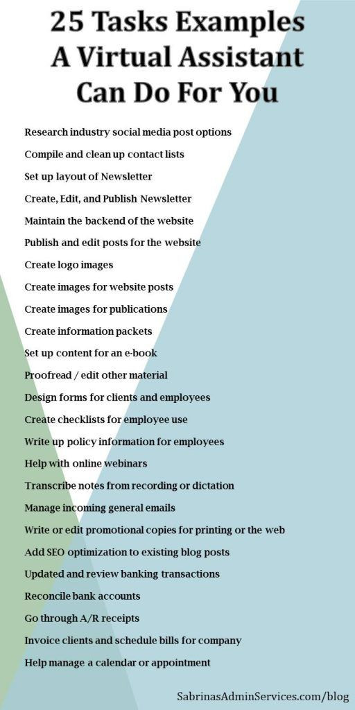 Virtual assistant Business Plan Template 25 Virtual assistant Tasks that Can Help Your Small Business