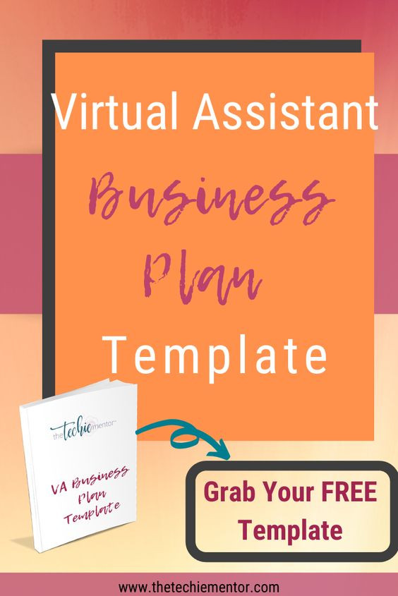 Virtual assistant Business Plan Template Free Virtual assistant Business Plan Template