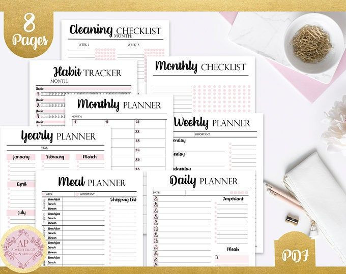 Virtual assistant Business Plan Template Virtual assistant Business Planner Bundle Personal assistant