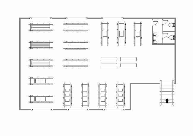 Warehouse Floor Plan Template Warehouse Floor Plan Template New Rehabilitation Center