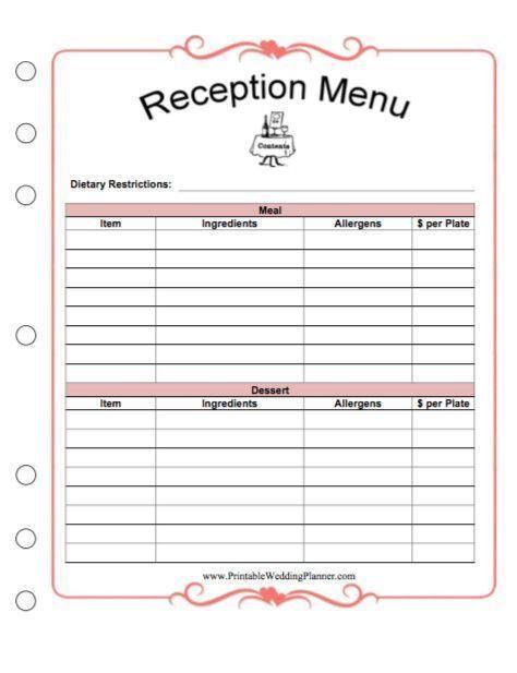 Wedding Planner Template Free Free Printable Wedding Planner Worksheets New Free