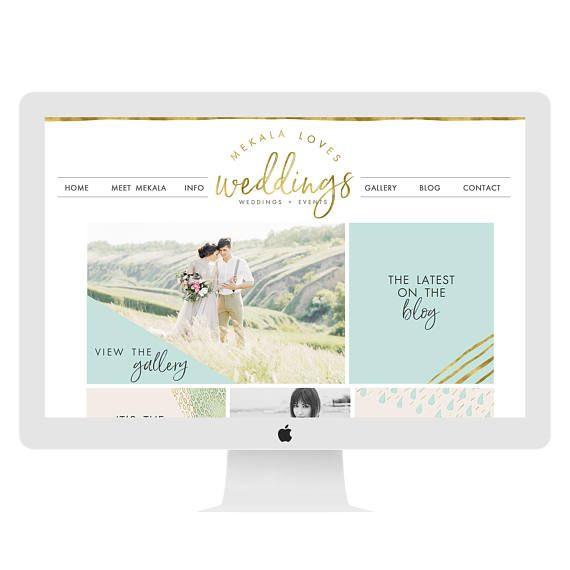 Wedding Planner Website Template Wix Website Design Website Template Wedding Planner