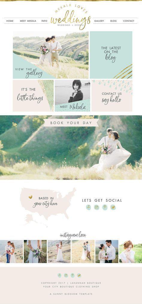 Wedding Planner Website Template Wix Website Design Website Template Wedding Planner Website