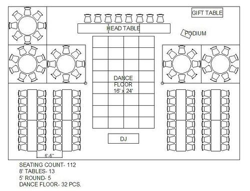 Wedding Reception Floor Plan Template Casa De Christine More Tent Layout Options