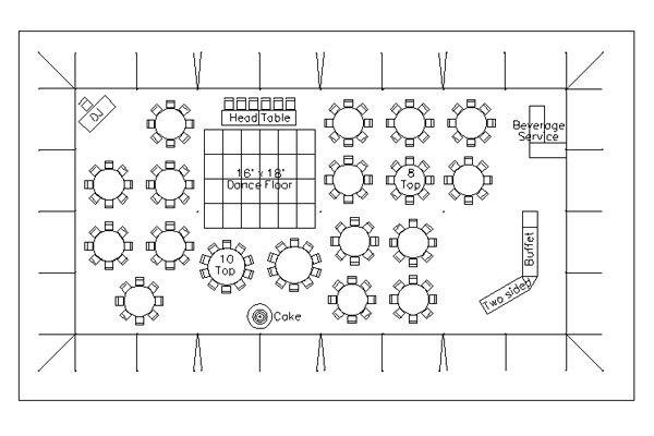 Wedding Reception Floor Plan Template How to Choose Your Wedding Reception Layout Design