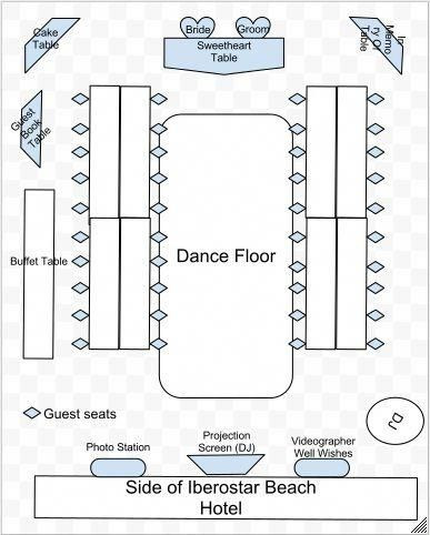 Wedding Reception Floor Plan Template Save today Slashed Quinceanera Checklist