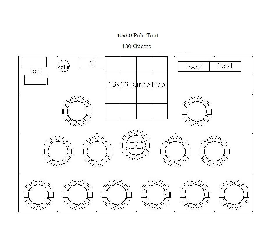 Wedding Reception Floor Plan Template Weddings Bc Tent & Awning