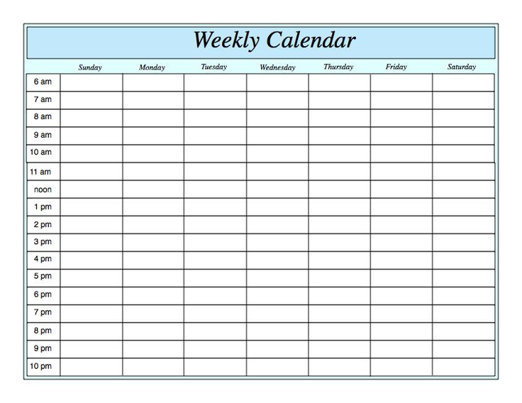 Weekly Hourly Planner Template 15 Of the Best Ways to Enjoy A Balanced Life