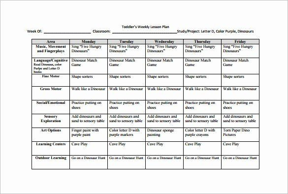 Weekly Lesson Plan Template Doc Monthly Lesson Plan Template Inspirational Weekly Lesson
