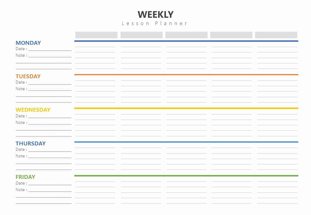 Weekly Plans Template Weekly Lesson Plans Template Unique Weekly Lesson Plan