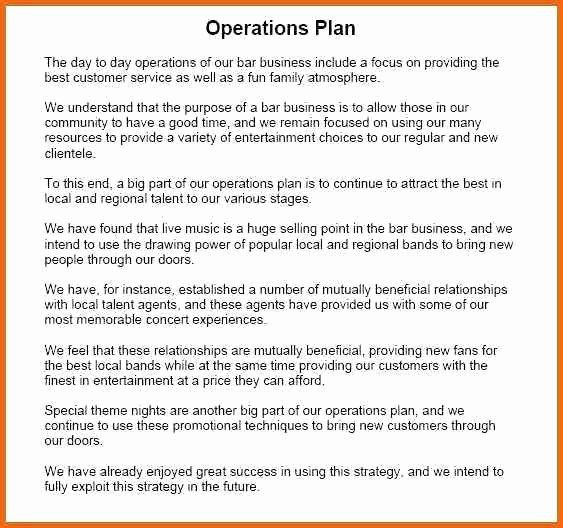 Whole Foods Action Plan Template Business Operational Plan Template Lovely Operational Plan