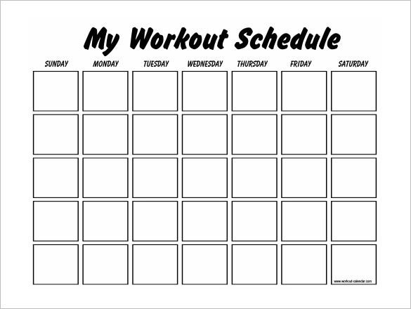 Workout Planner Template Pdf Docs Free & Premium Templates In 2020