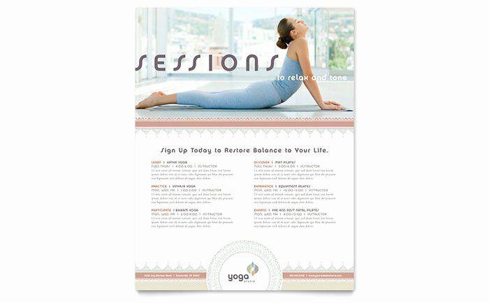 Yoga Class Planning Template Yoga Class Planning Template Unique Pilates & Yoga Class