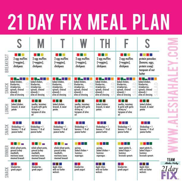 21 Day Meal Plan Template Weekone Mealplan 612—612 Pixels