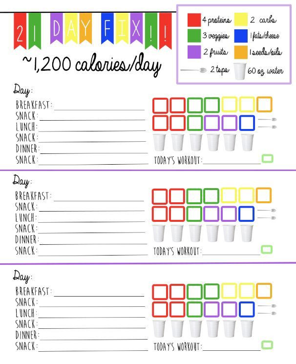 21 Day Meal Planner Template 1200 1499 Plan Template …