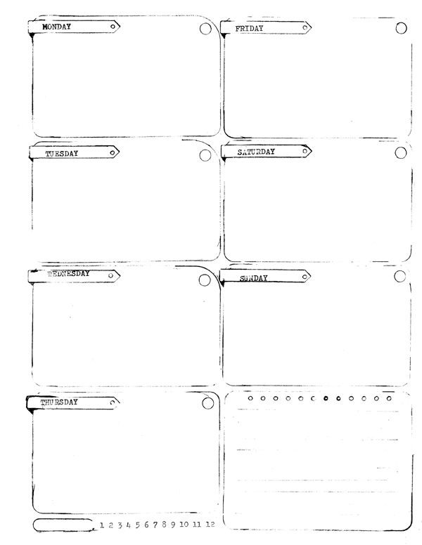 5 5 X 8 5 Planner Template Pin On Printable Planner Pages