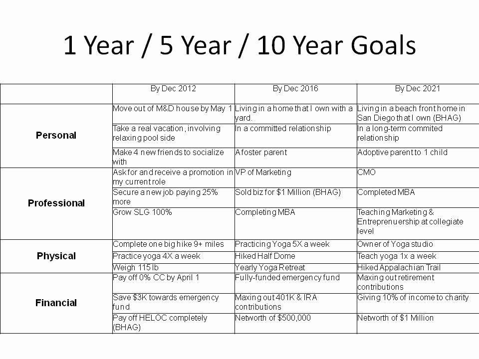 5 Year Life Plan Template 5 Year Life Plan Template Best 26 5 Year Goal Setting