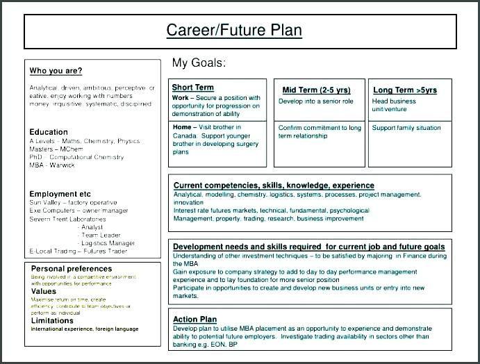 5 Year Plan Template Career 5 Year Plan High School Senior Template Google Search