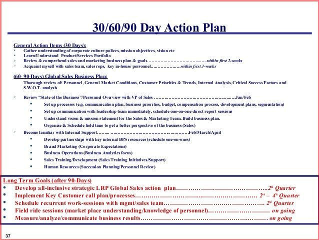 90 Day Game Plan Template Image Result for 30 60 90 Day Marketing Plan