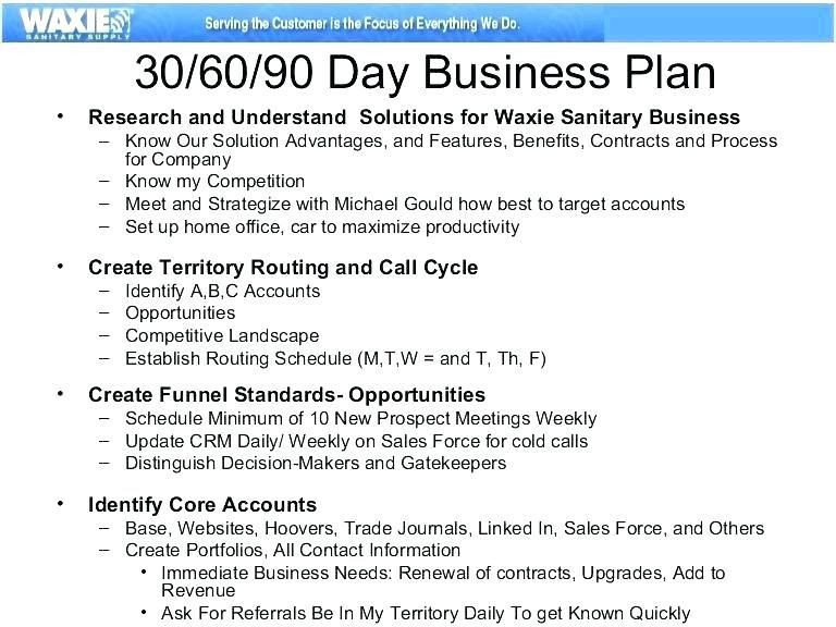 90 Day Management Plan Template 21 Account Management Plan Template 30 60 90 Day Sales