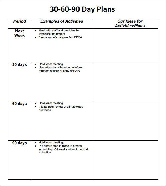 90 Day Planner Template Pin On Ideas