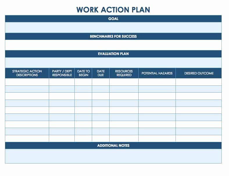 Academic Success Plan Template Academic Success Plan Template Fresh Free Action Plan