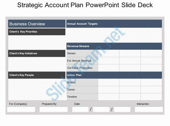 Account Plan Template Account Management Plan Template New Strategic Account Plan