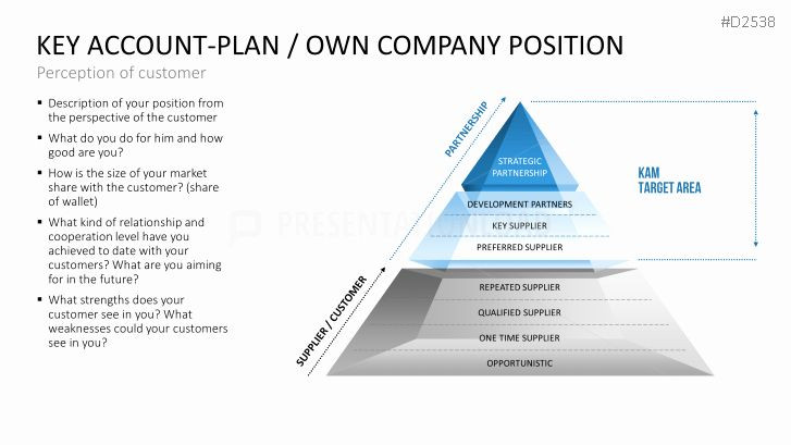 Account Plan Template Ppt Account Plan Template Ppt Fresh Key Account Management
