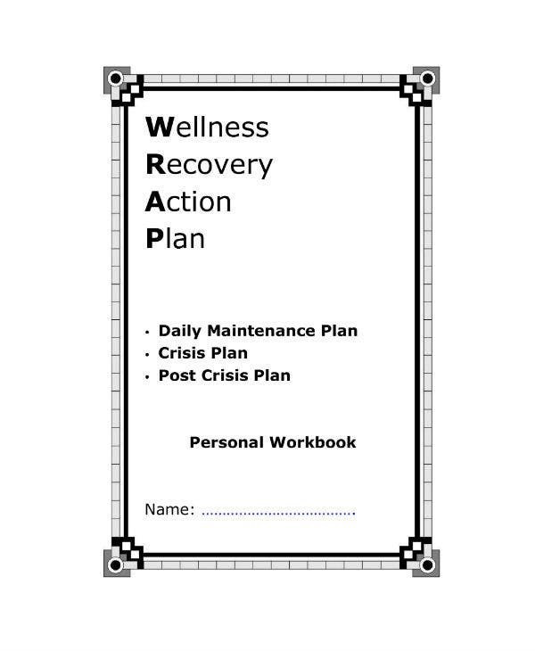 Addiction Recovery Plan Template Wellness Recovery Action Plan Worksheet Worksheetfun In
