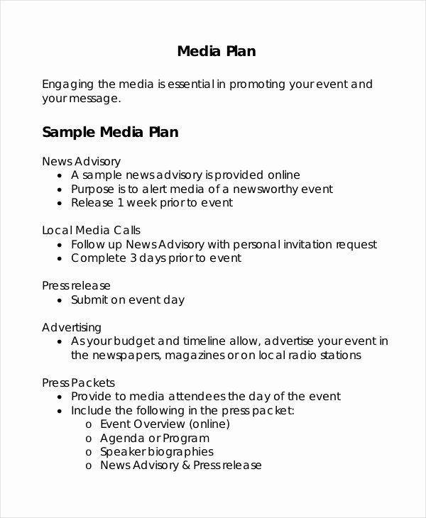 Advertising Plan Template Marketing Proposal Template Word Fresh Advertising Plan