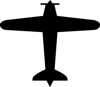 Airplane Template to Cut Out Airplane Clip Art
