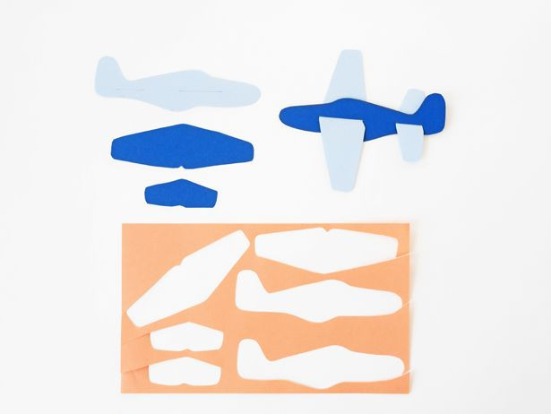 Airplane Template to Cut Out Diy Paper Plane toy with Free Template
