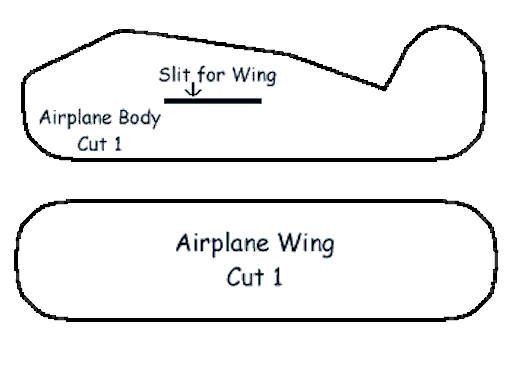 Airplane Template to Cut Out How to Make A Basic Paper Airplane